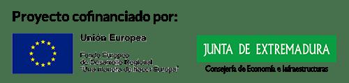 Logos Junta y FEDER
